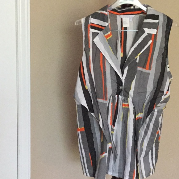 NWOT Spanner sleeveless blouse